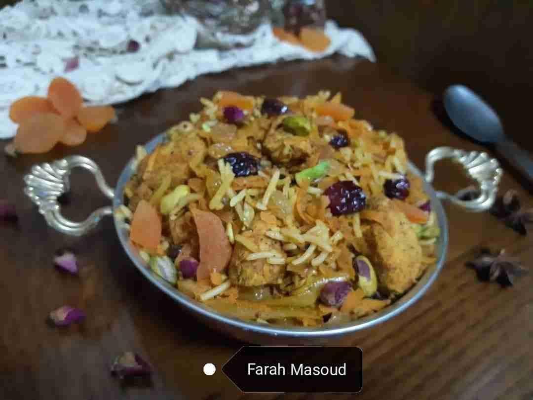 رز الجواهر الايراني دورة طبخ ١ زاكي Recipe Food Main Dishes Dishes