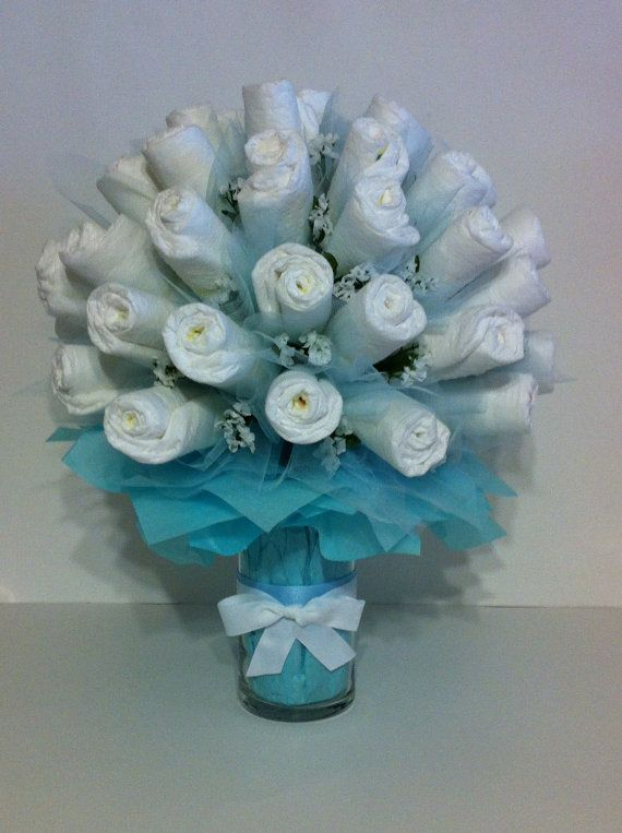 Pamper Me With A Diaper Bouquet by BebeBlissbabygifts on Etsy ...