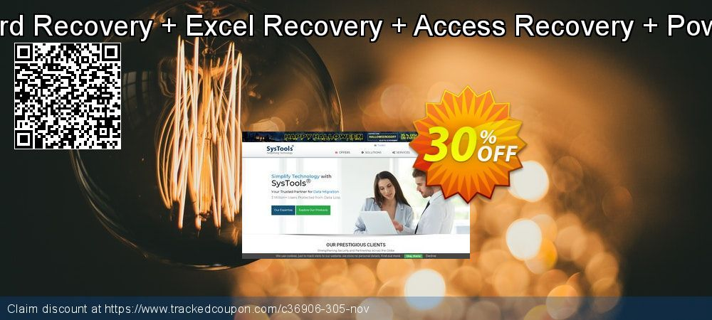 [20% OFF] Bundle Offer - Word Recovery + Excel Recovery + Access Recovery + PowerPoint Recovery Promo coupon code on Int. Workers' Day promotions, May 2020