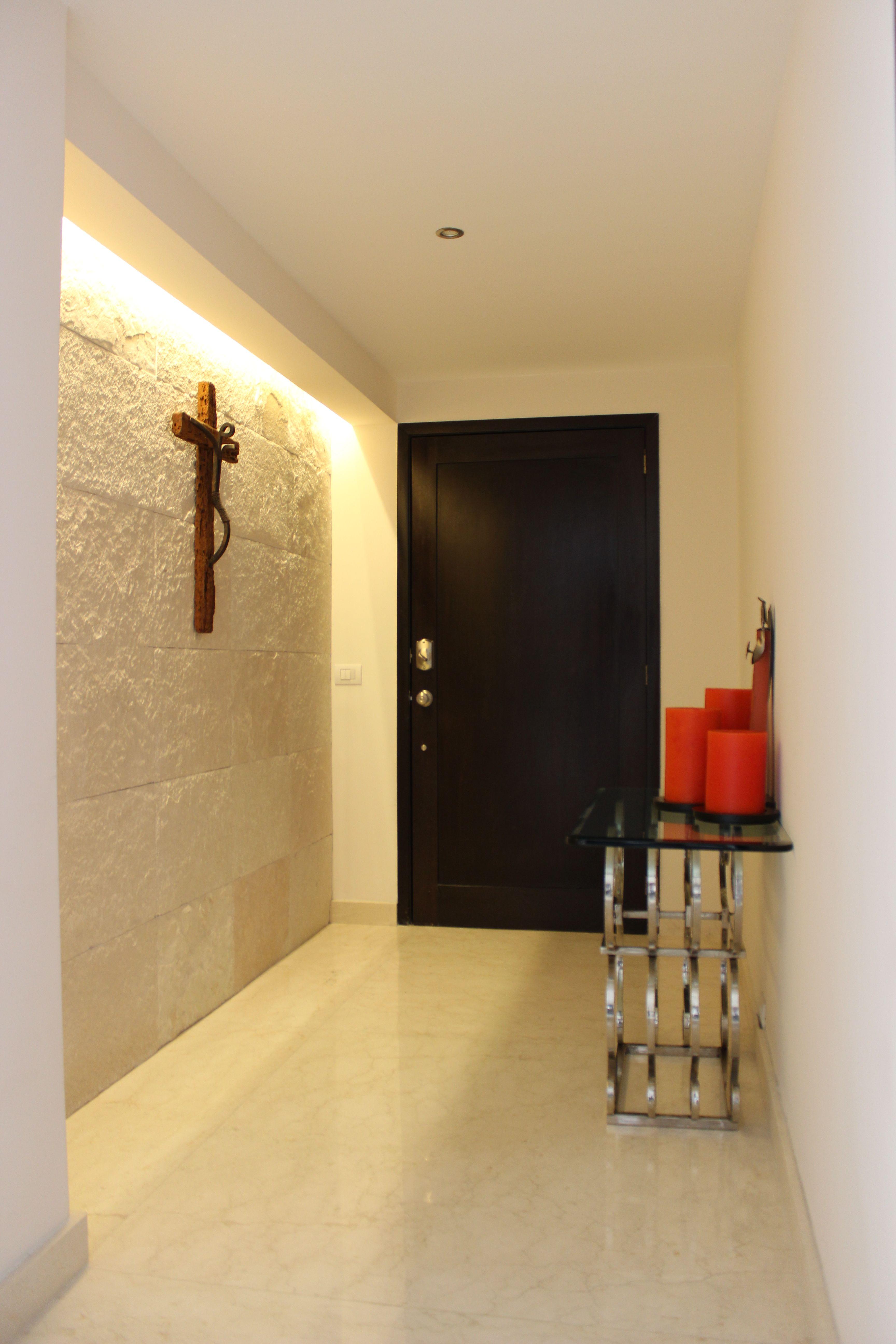 Muro de Galarza, luz indirecta; vestibulo de Acceso. | Mis ...