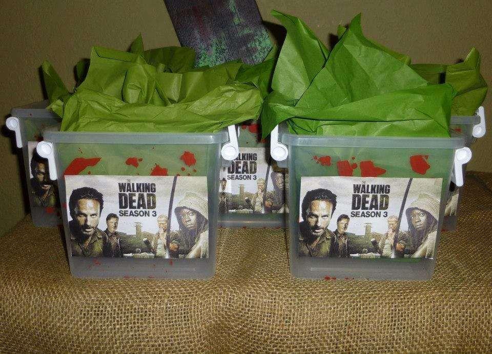 AMC The Walking Dead Zombie Apocalypse Birthday Party Ideas Dead
