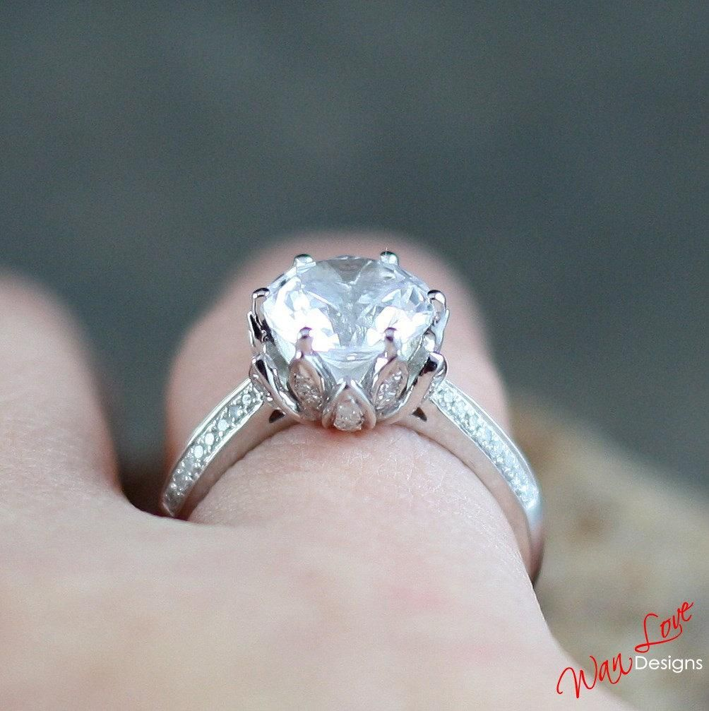 Wanlove On Moissanite Rings And Engagements
