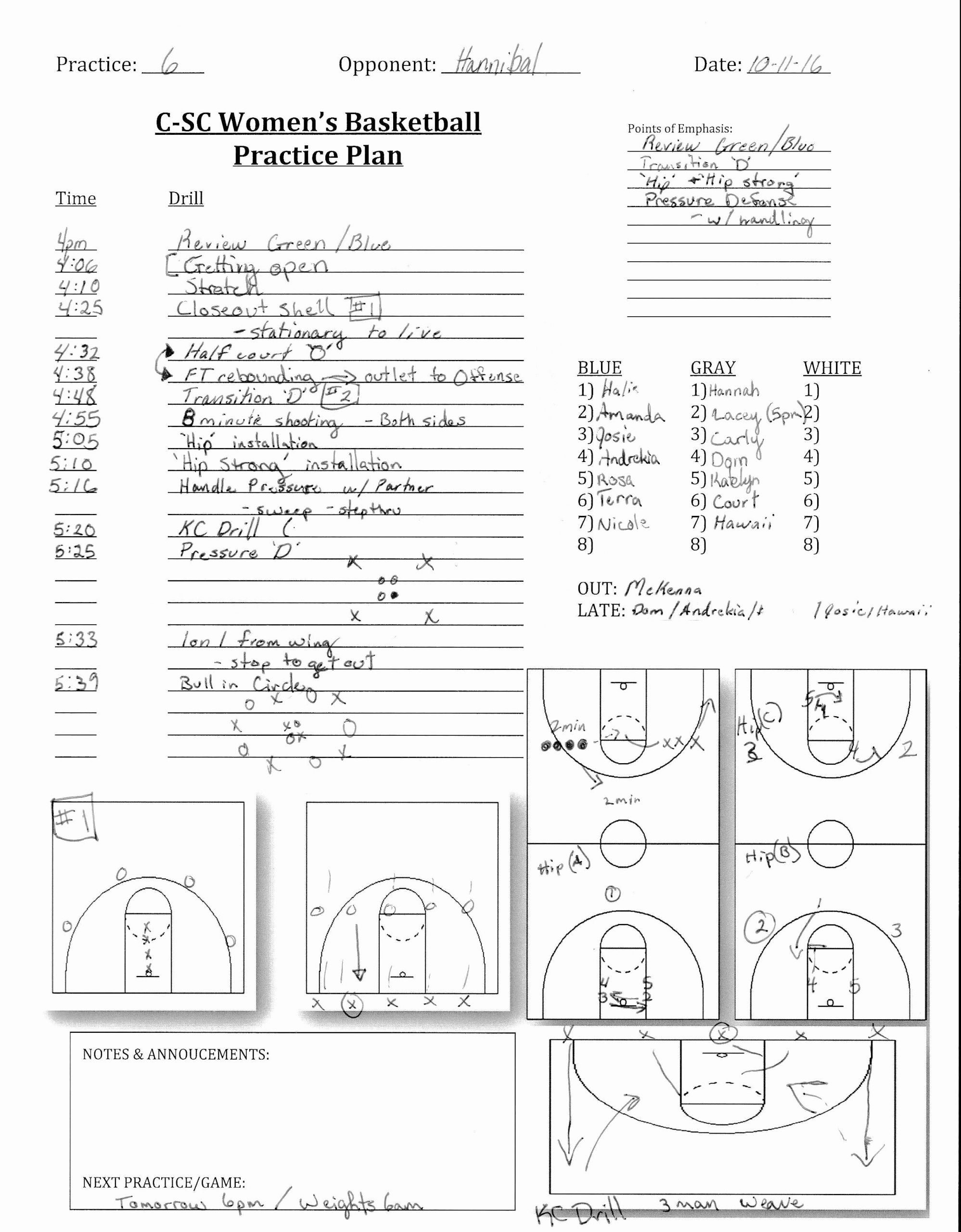 Practice Plan Template Basketball New Midwest Elite Basketball Culver Stockton Wbb Practice Basketball Practice Plans Basketball Practice Soccer Practice Plans Basketball practice plan template word