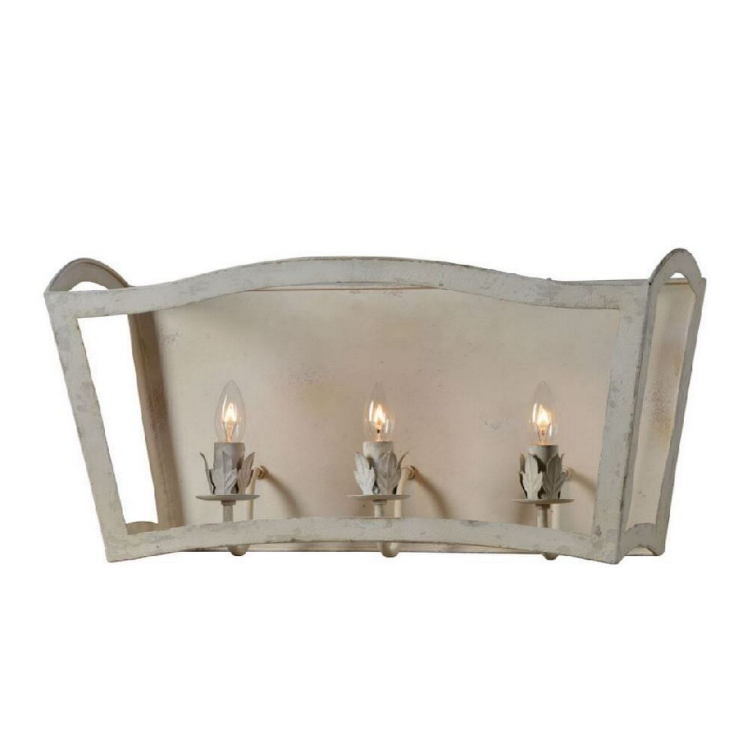 Wall Sconce Light Fixture The Jennifer Aged Off White Shabby Country Chic With Images Hallway Light Fixtures Sconce Light Fixtures Wall Sconce Lighting