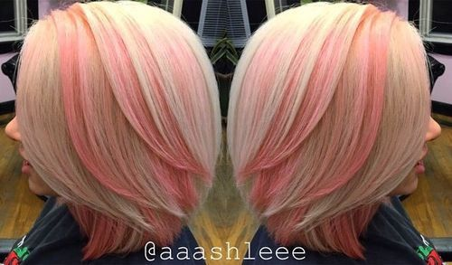 Pinks Hair Style: 40 Pink Hairstyles As The Inspiration To Try Pink Hair In