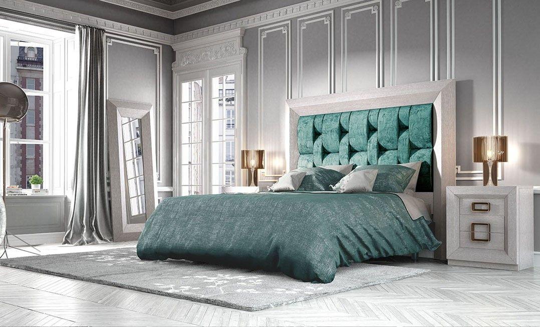 Dormitorio de matrimonio del fabricante franco furniture for Muebles de dormitorio contemporaneo