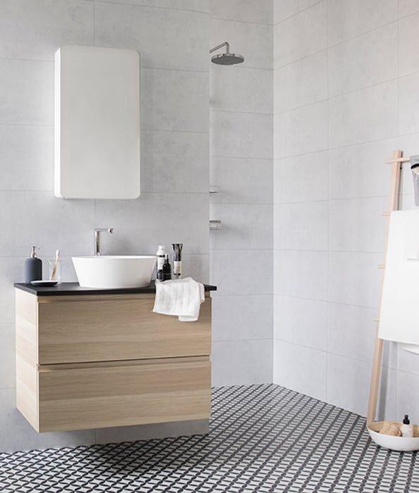 douche droogrek spiegel badkamer handdoek borstel kastje bamboe wit markyta godmorgon ikea. Black Bedroom Furniture Sets. Home Design Ideas