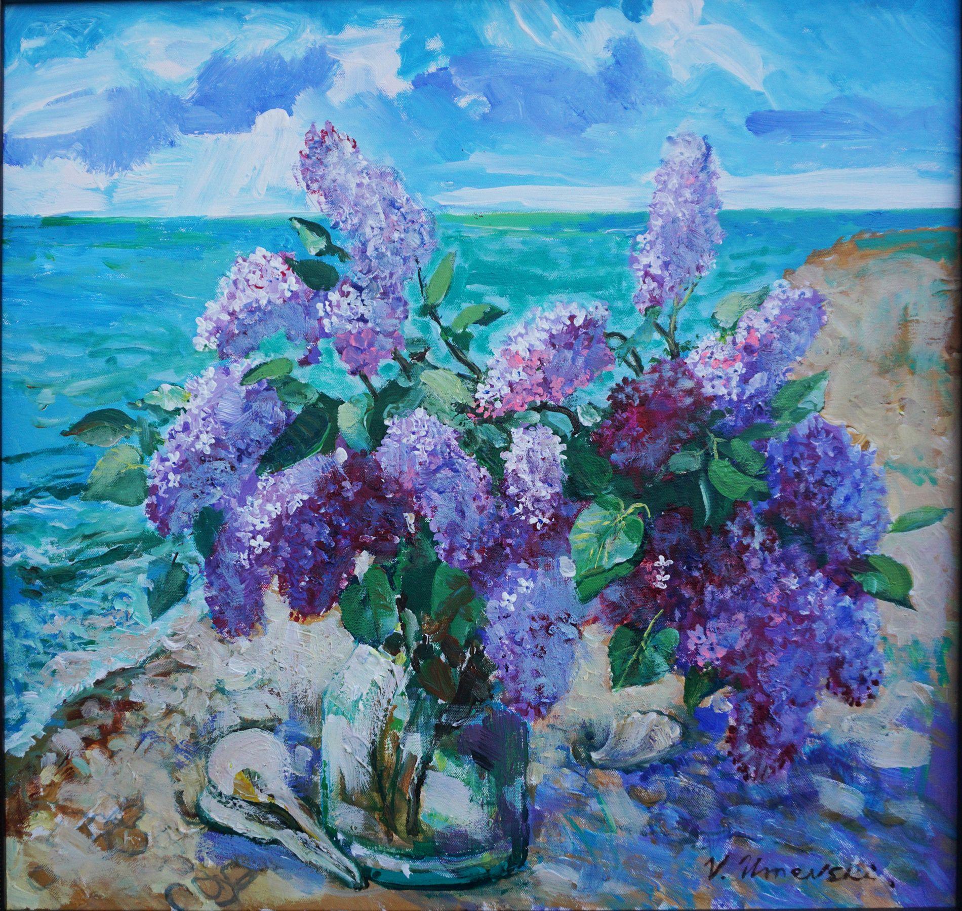 Lilacs on the Ocean