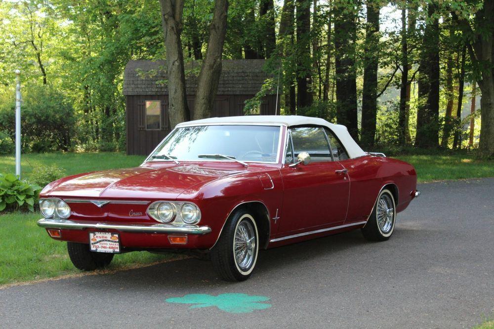 1966 Chevrolet Corvair Monza Chevrolet corvair