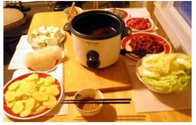 Day7,小火鍋+米飯