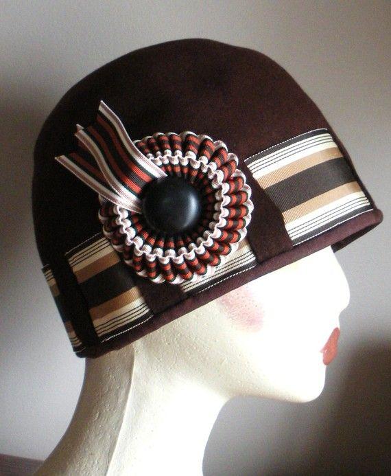 Prytania Victorian Ribbon Cocarde Millinery Embellishment Etsy Vintage Style Hat Millinery Vintage Millinery