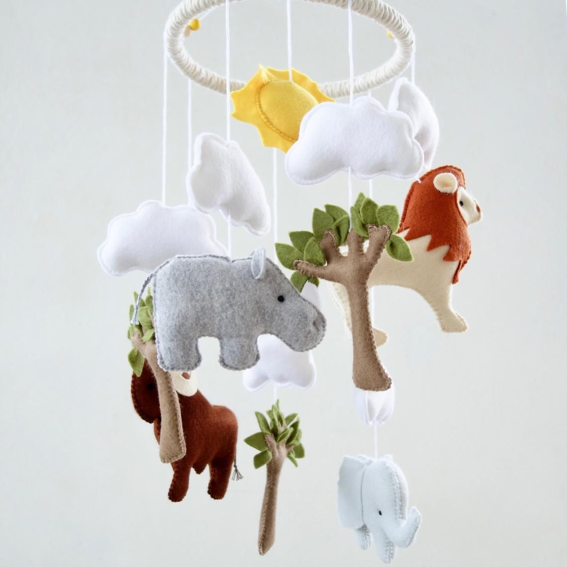 Baby Mobile African Nursery Decor