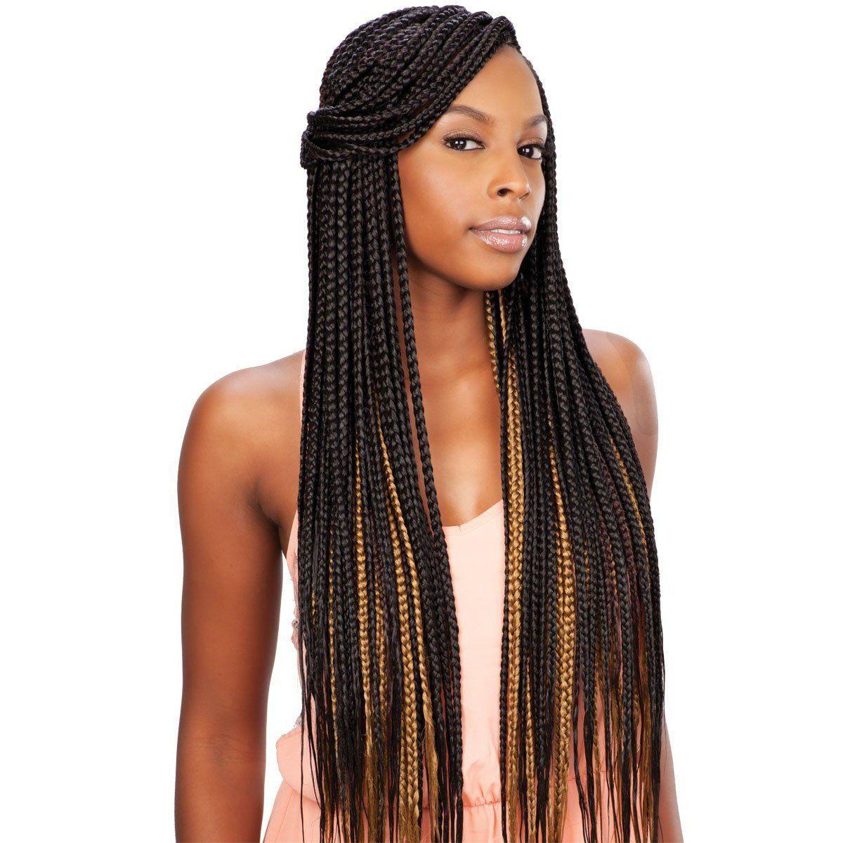 Que Kanekalon Premium Soft Jumbo Braid Cool Braid Hairstyles