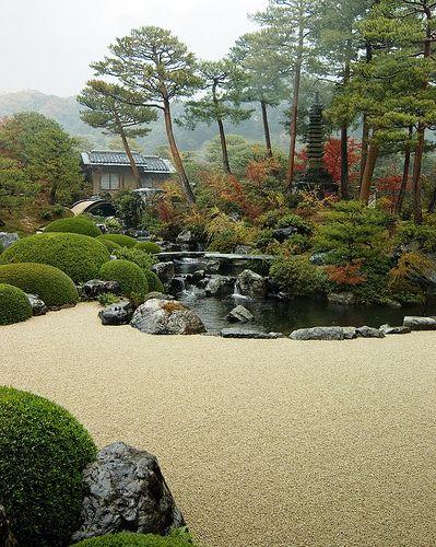Adachi Museum Of Art Japanese Garden Design Japanese Garden Japan Garden