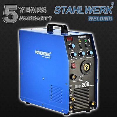 welder stahlwerk mig mag 200 with tig mma shielding