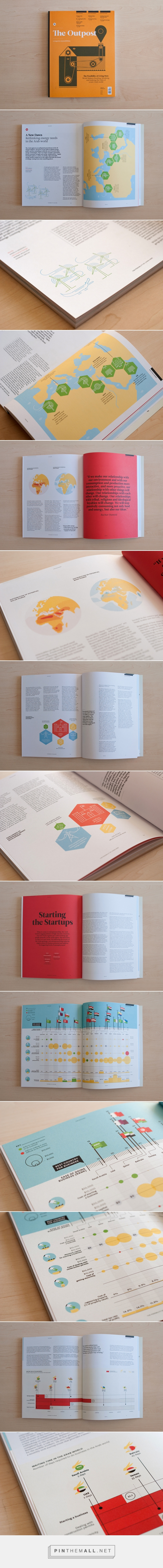 Infographics & Illustrations - The Outpost #02 on Behance... - a grouped images picture - Pin Them All