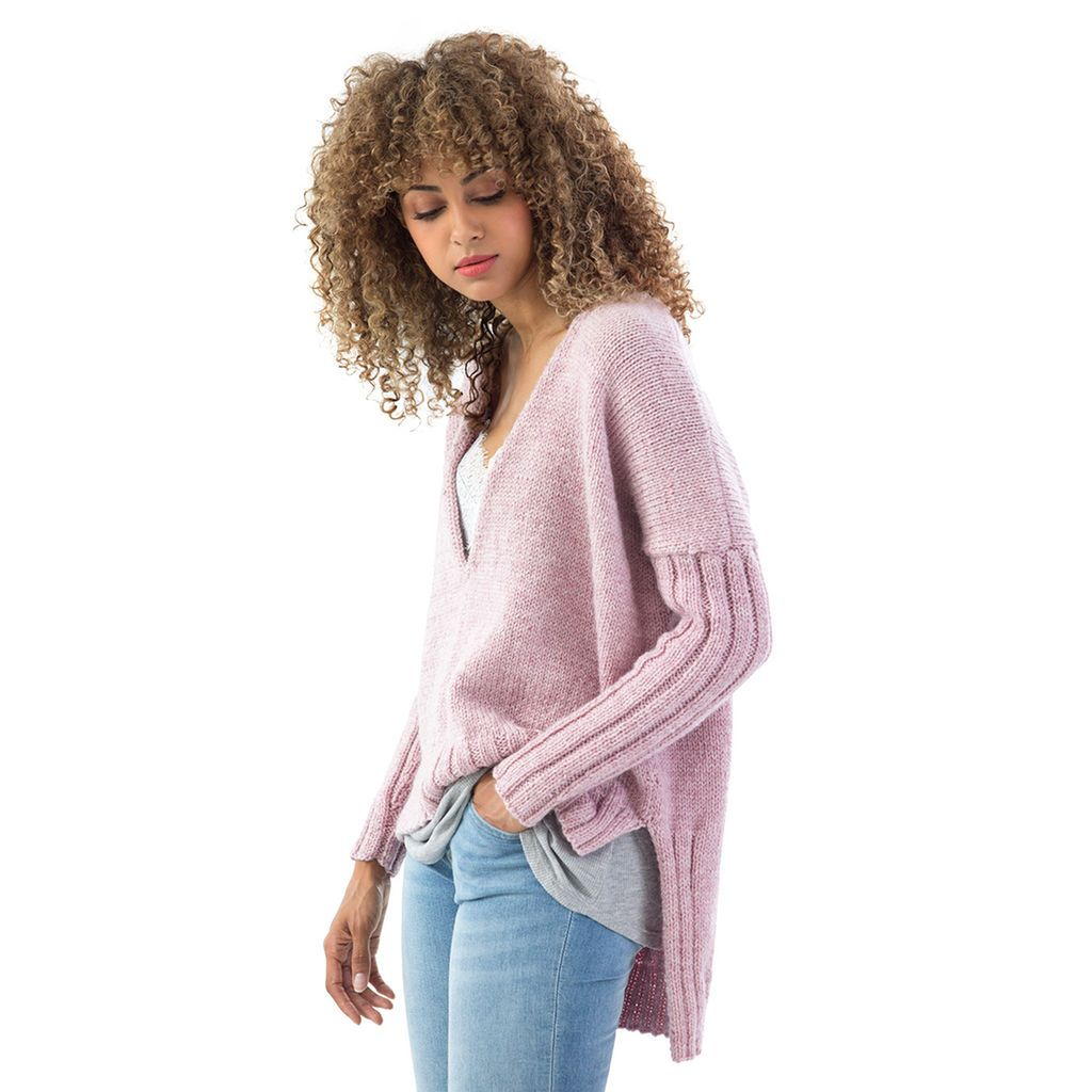 Lion Brand® Touch of Alpaca® Bonus Bundle Cedar Hill Knit Pullover