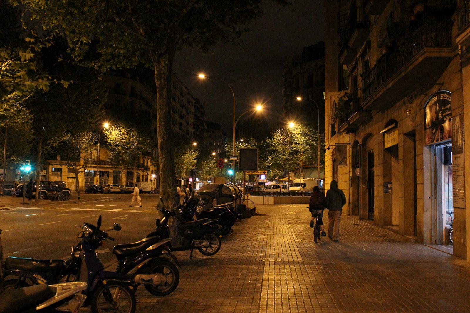 Barcelona City At Night   Ciudades