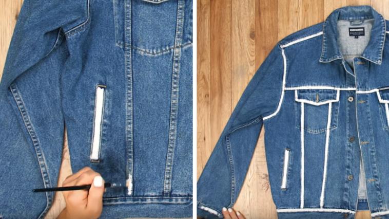 Nouveau Customiser ses vêtements : ne jetez plus, réutilisez vos vieux GR-42