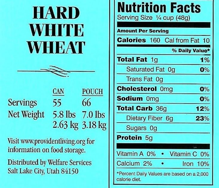 Labels from the lds cannerys food items so you know what