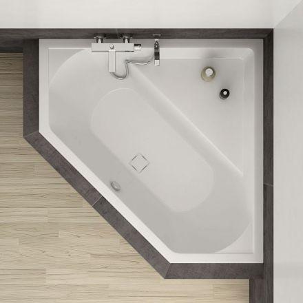 baignoire d 39 angle cavallo 140 x 140 cm salle de bains salle et baignoires. Black Bedroom Furniture Sets. Home Design Ideas