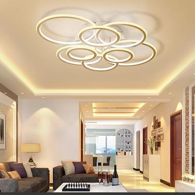 Neo Gleam Circel Rings Living Room Bedroom Study Room Led Ceiling Lights Modern Led High Brightness Aluminum Led Room Lighting Room Lights Modern Ceiling Light