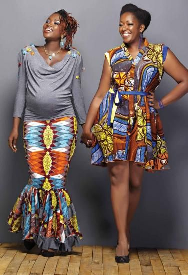 African Maternity Wear Beautiful