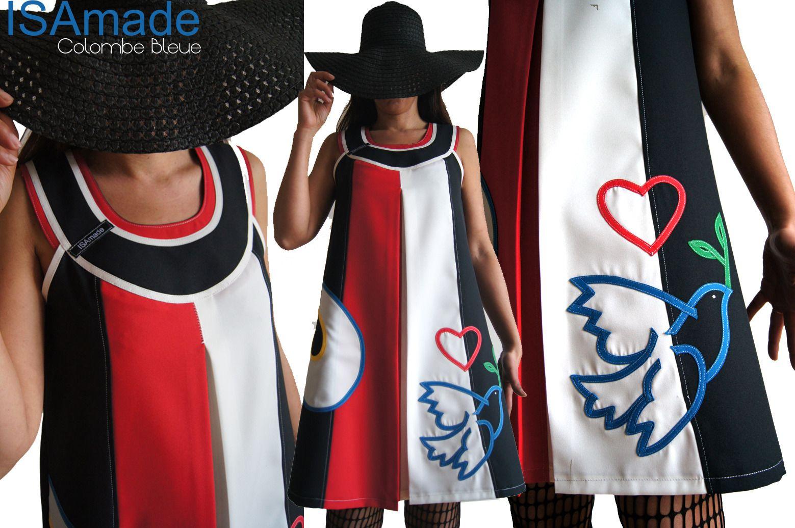 robe trap ze ecru rouge noire tendance femme 2015. Black Bedroom Furniture Sets. Home Design Ideas