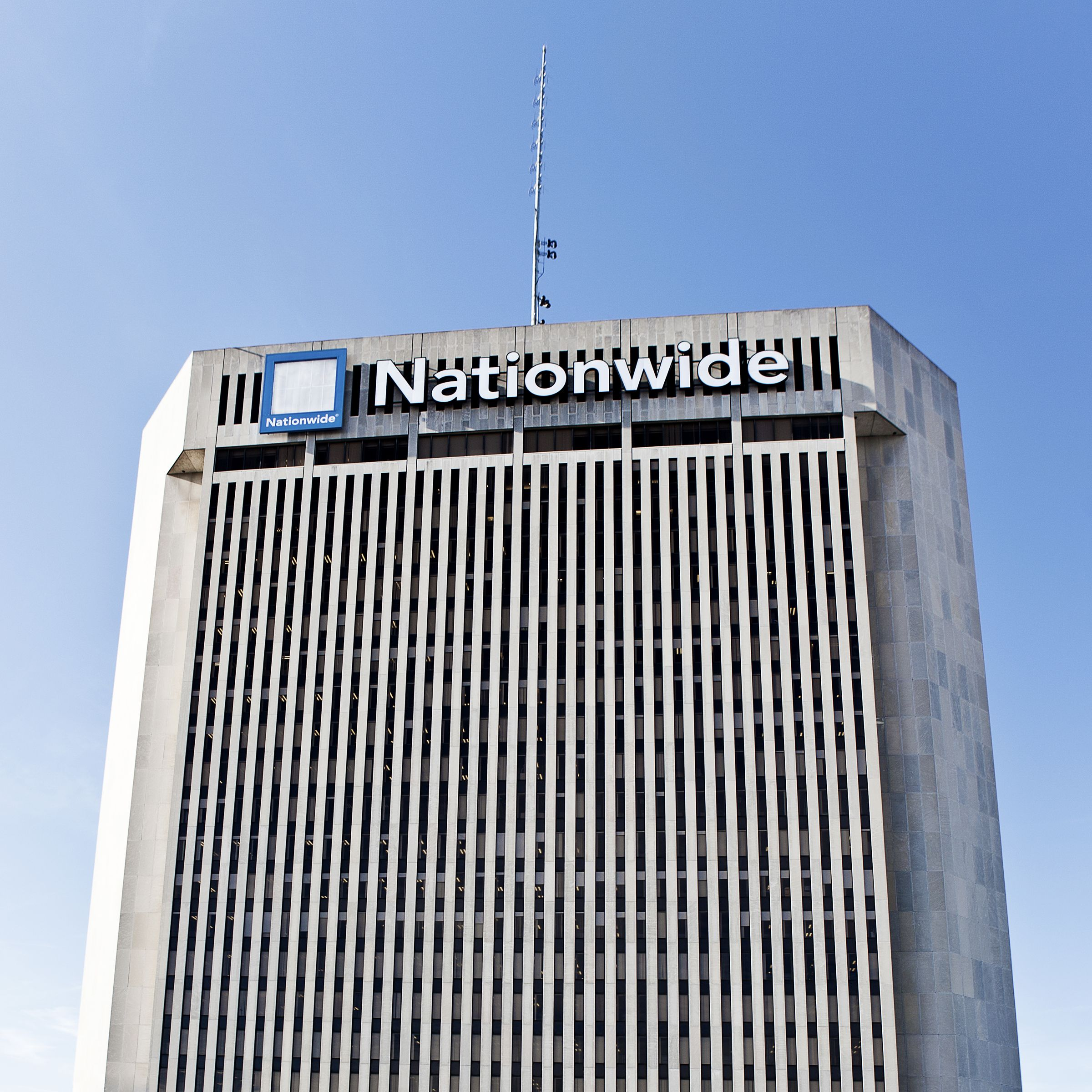 The Nationwide Insurance World Headquarters In Downtown