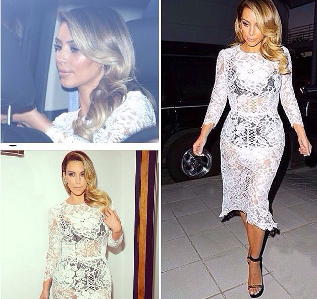 #hair #whitelace #kimkardashian