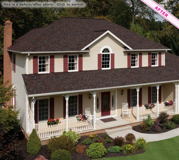 Best Owens Corning Roofing Merlot Pinned For Color Roof 400 x 300