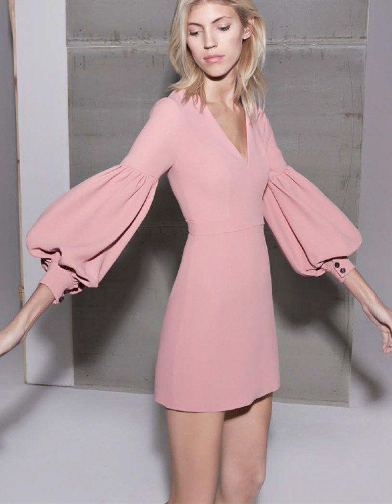 Alexis Ellena Dress in Ash Pink | Processo, Vestidos longos curtos e ...
