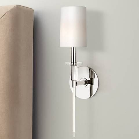 Hudson Valley Amherst Nickel 18 3 4 High Wall Sconce High Walls