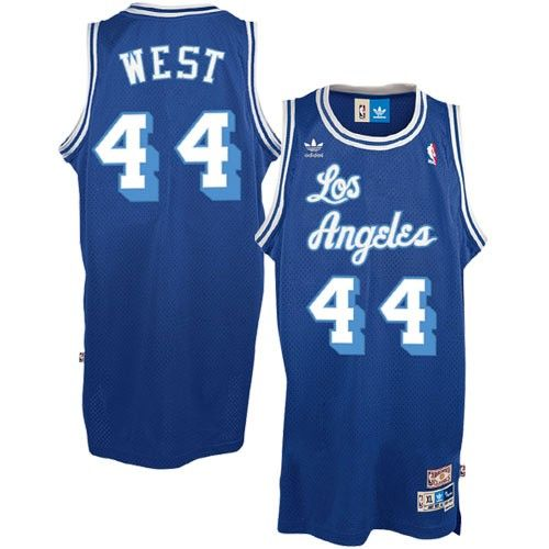 Jerry West Jersey, Adidas Los Angeles Lakers #44 Soul Royal