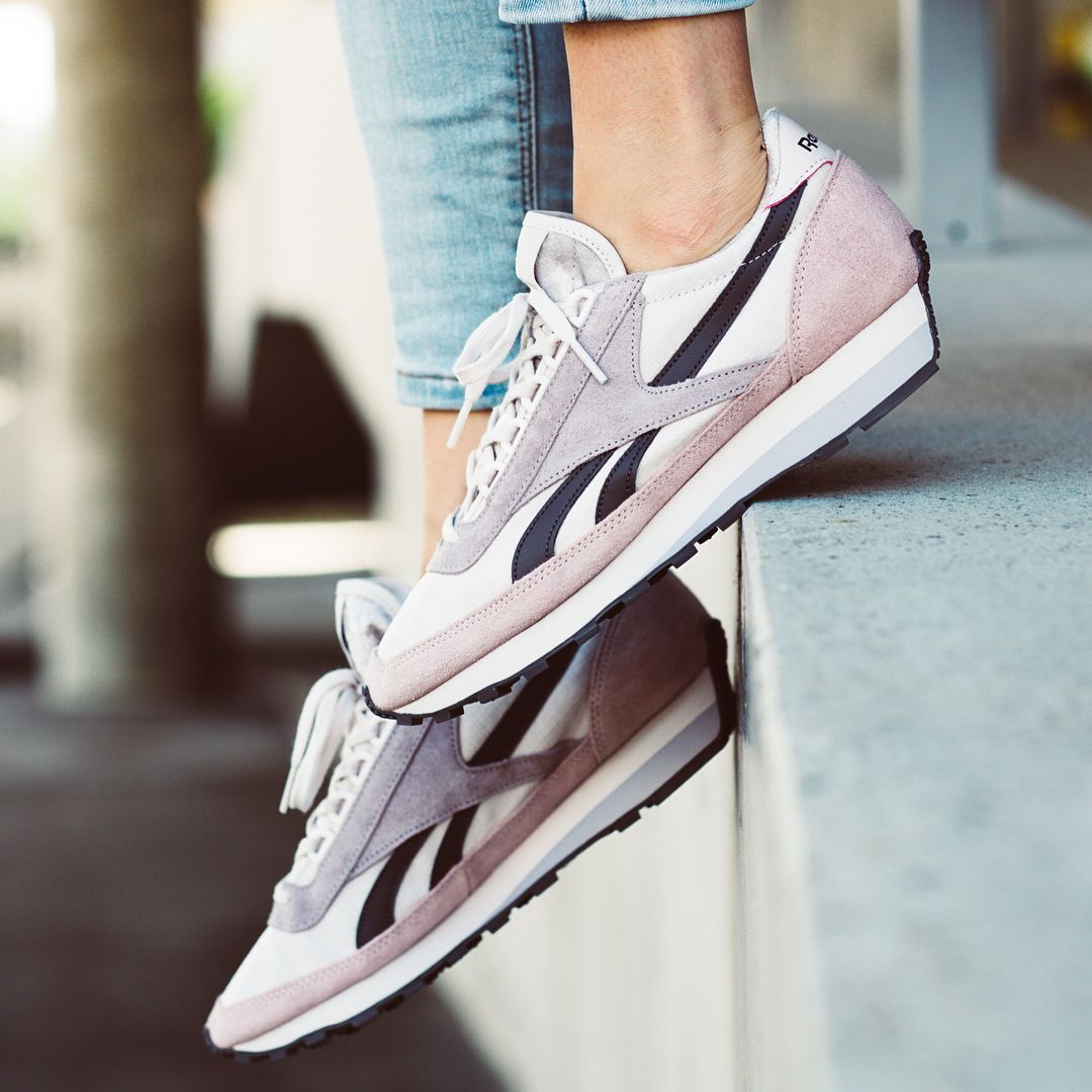 Buy online Reebok Classic Leather SM in Sand Stone Blue