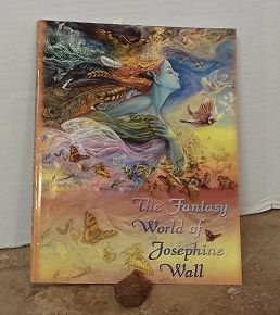 Josephine Wall a book of her art. Wild amounts of color and beauty.