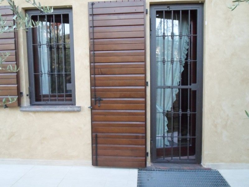 Inferriate per porte, finestre o portefinestre | Staff | Pinterest