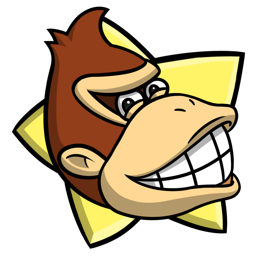 Mario Party Donkey Kong Party Star By Entermeun On Deviantart Donkey Kong Donkey Kong Party Mario Party