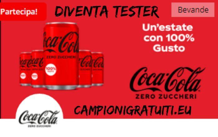 Diventa Tester Coca Cola senza zuccheri con TRND