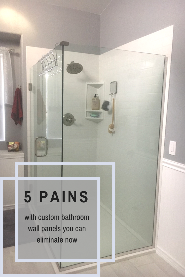 5 Pains With Custom Bathroom Wall Panels You Can Eliminate Right Now Bathroom Wall Panels Shower Wall Panels Shower Panels