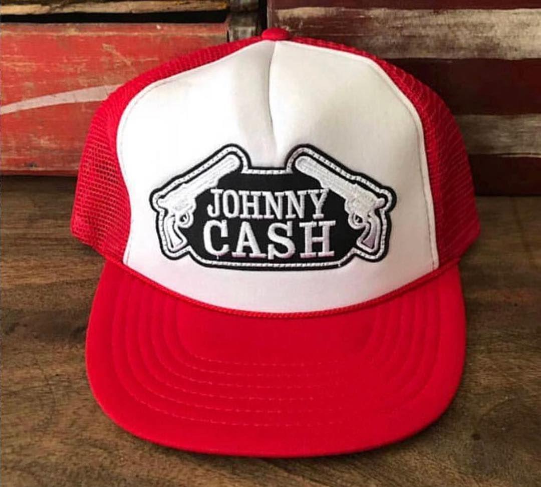 Vintage Johnny Cash Trucker Hat  rebelfrayvintage  maninblack  vinyl   nashville  wardrobestylist   113600937ff9