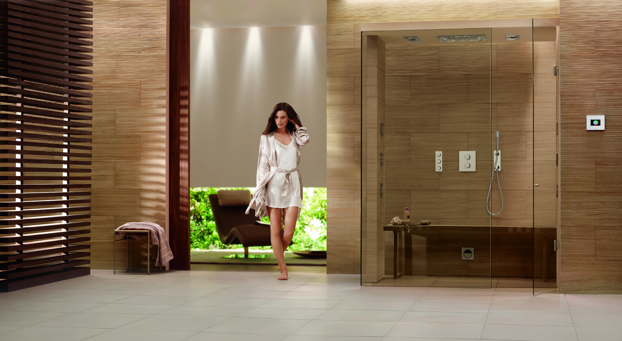 Tadelakt bathroom made by amel kadic - Spas