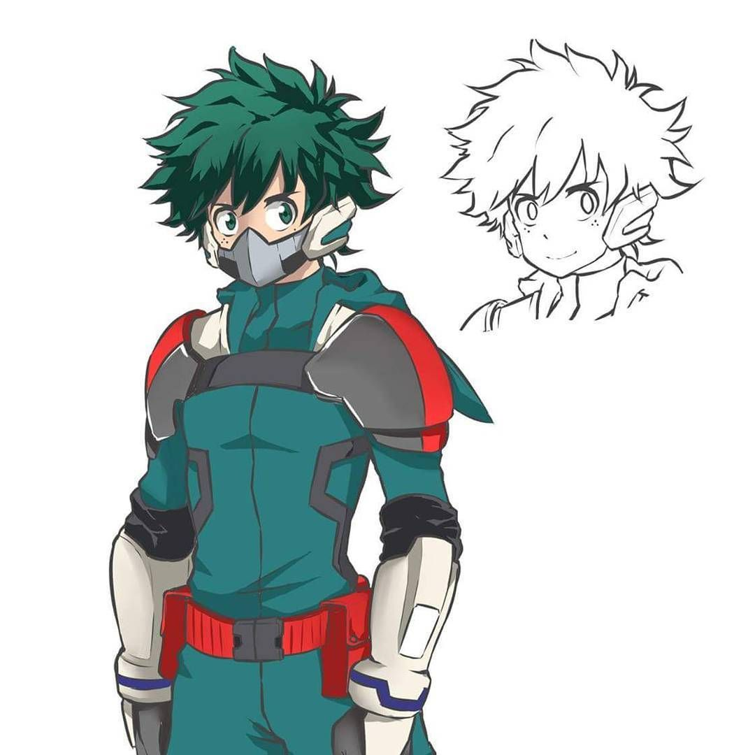 Daru Hanami Market On Instagram Deku Costume Upgrade His Unmasked Face Still Looks Weird But Th My Hero Academia Tsuyu Hero Costumes Super Hero Costumes