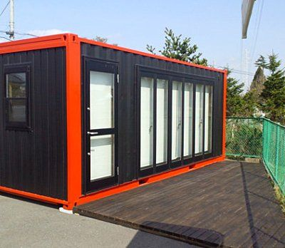 F D Container Shop Container House Architecture