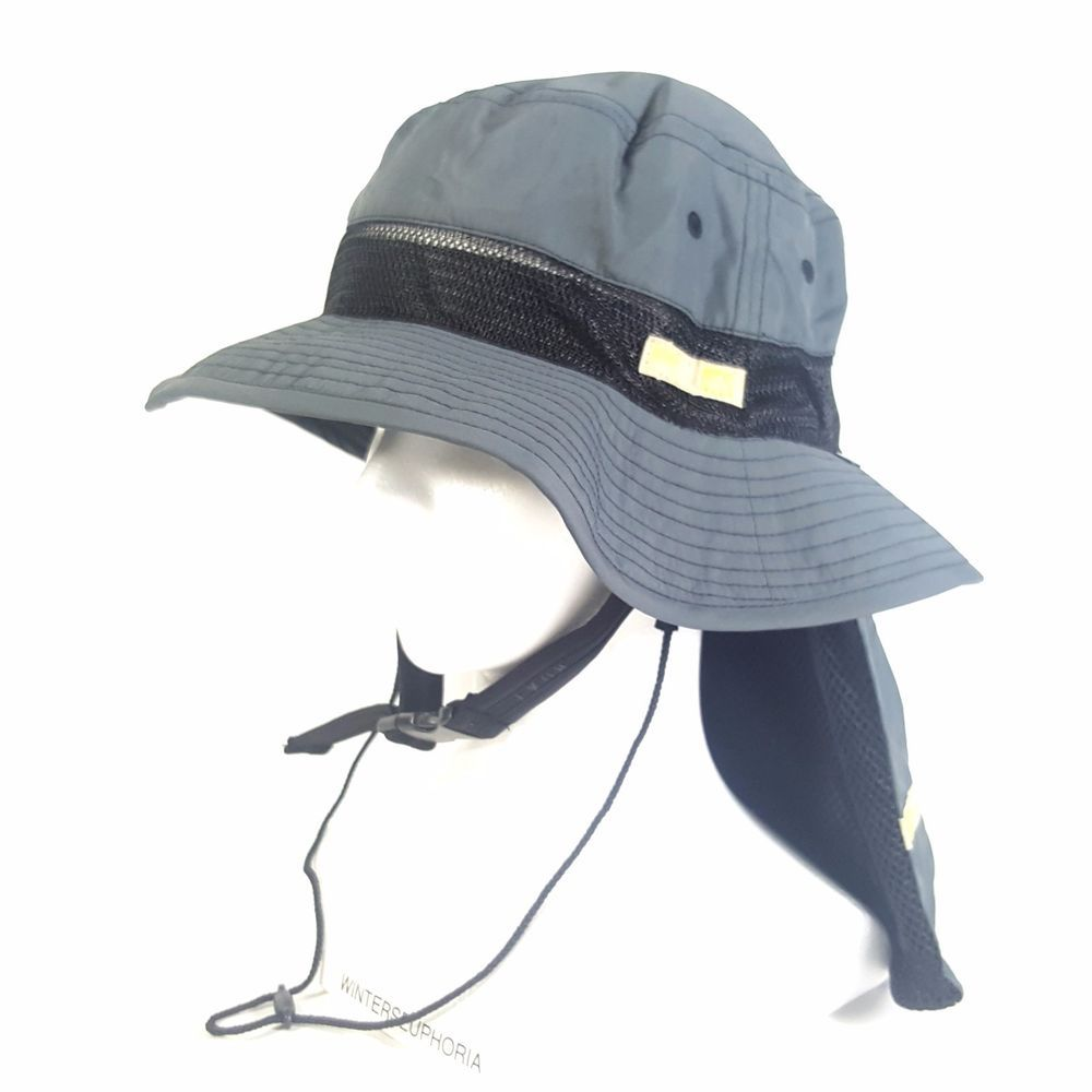 Womens Hiking Camping Fishing Trekking Wide Brim Sun Hat with Neck Cover Flap #Roxy #SafariNeckflap