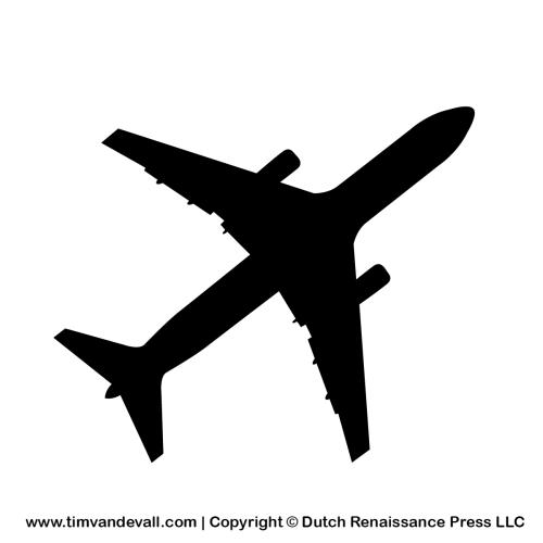 Free Airplane Silhouette Stencil And Outline Clipart For Artists Inspiracao Para Tatuagem Aviao Png Ideias De Tatuagens