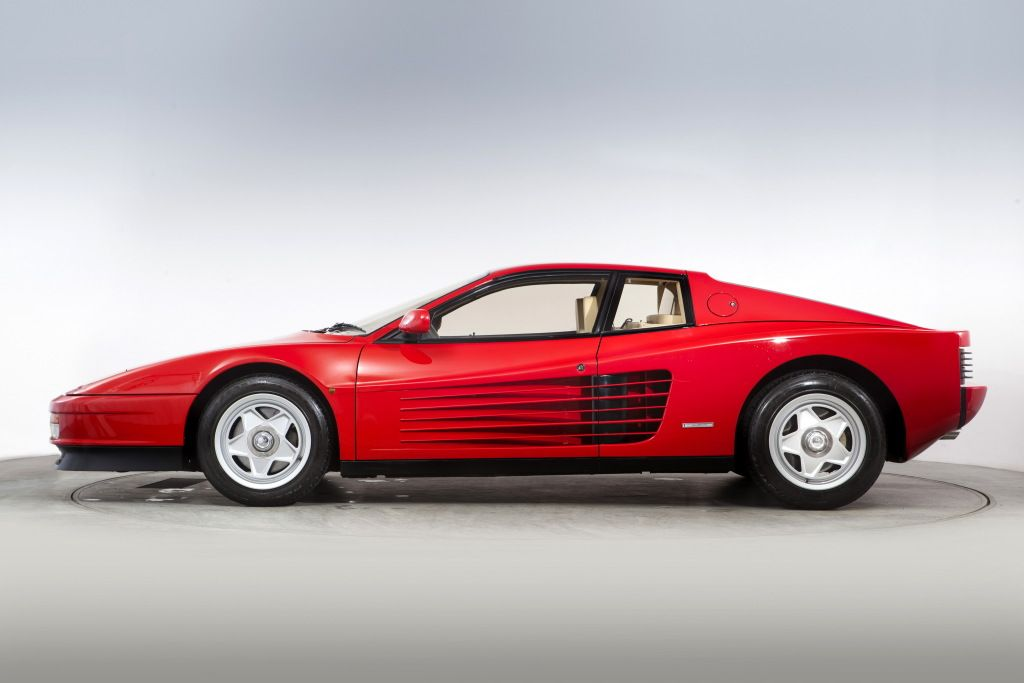 Ferrari Testarossa Uk Spec 198687 European Cars