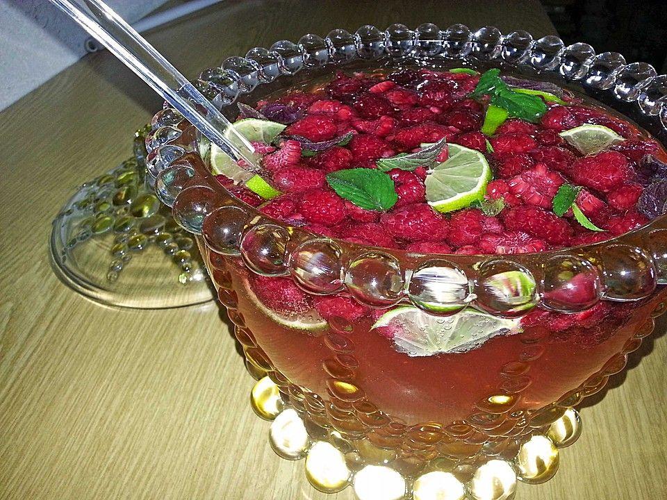 Bacardi Razz Bowle #nonalcoholicbeverages