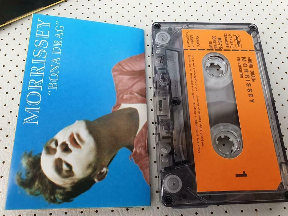 Morrissey Bona Drag Original Cassette Tape Jugoton 1990 The Smiths Morrissey Alternativeindie Cassette Tapes Cassette Will Smith