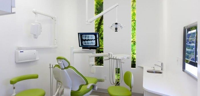 Modern Dental Office Interior Design Including Lobby, Waiting Room, And The  Examination Room